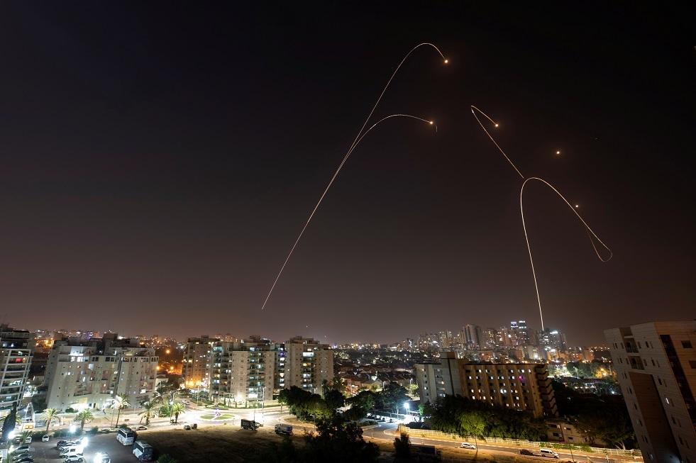إسرائيل تعلن عن اعتراض صاروخين من غزة