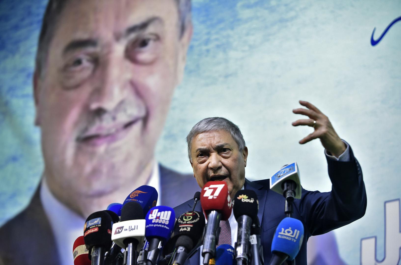 الجزائر.. إدارة حملة المرشح الرئاسي بن فليس تصدر بيانا حول
