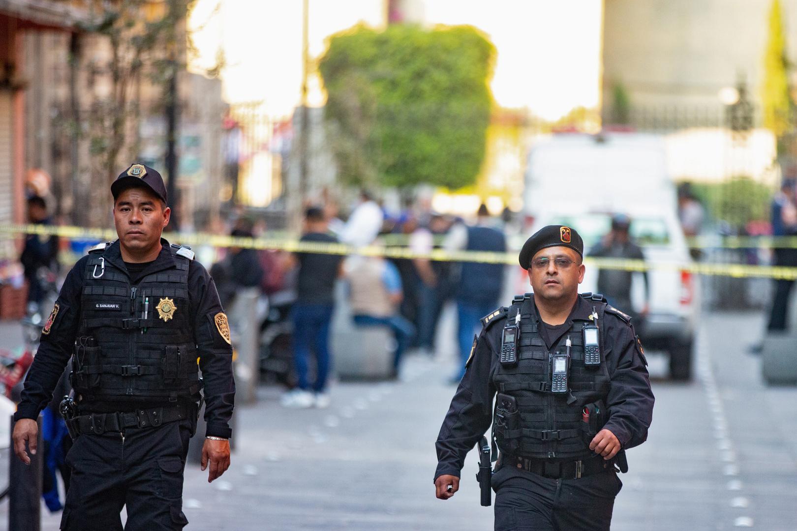 مقتل 4 أشخاص بإطلاق نار أمام القصر الرئاسي في المكسيك