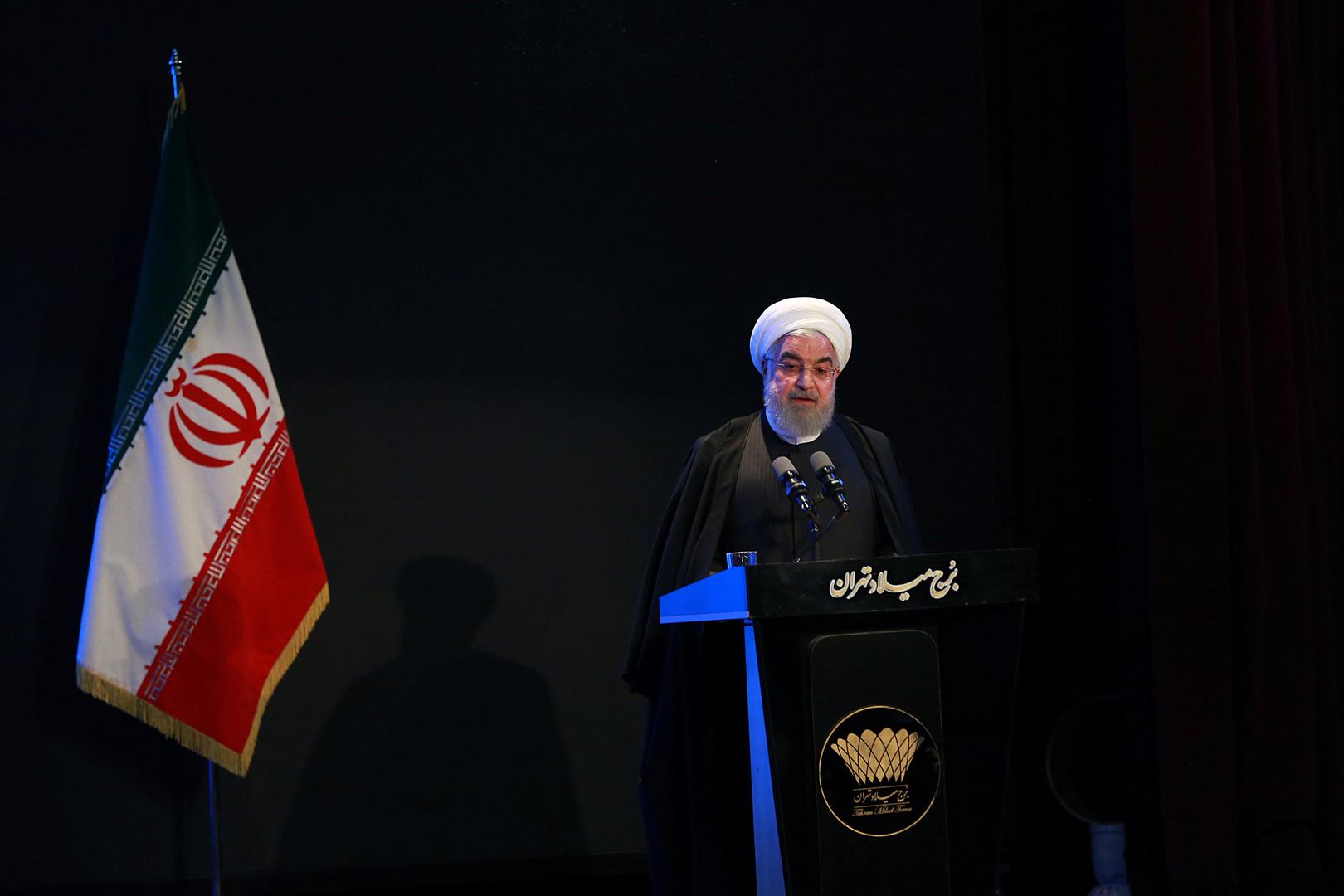 الرئيس الإيراني، حسن روحاني
