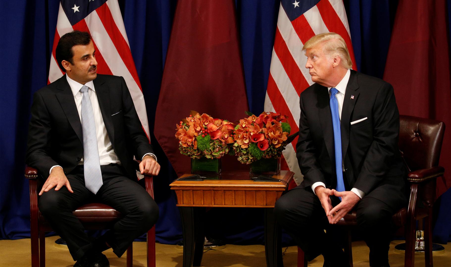 أمير قطر يوجه رسالة لترامب على خلفية هجوم القاعدة الأمريكية