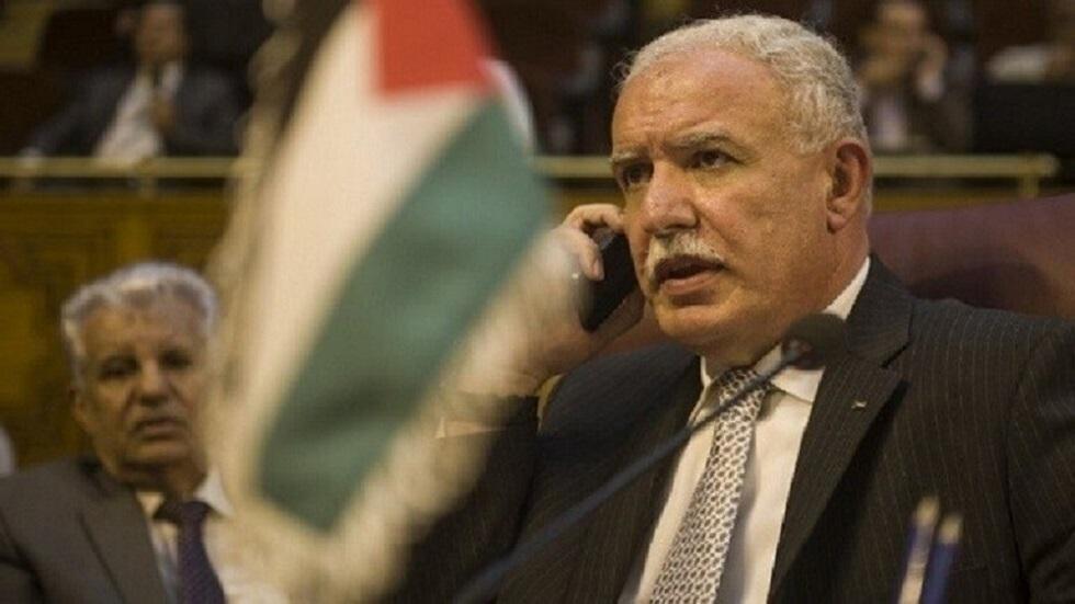 وزير الخارجية الفلسطيني رياض المالكي (صورة أرشيفية)