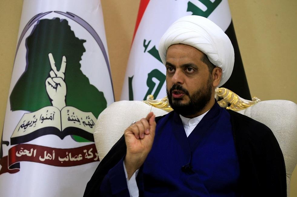 قيس الخزعلي، قائد حركة