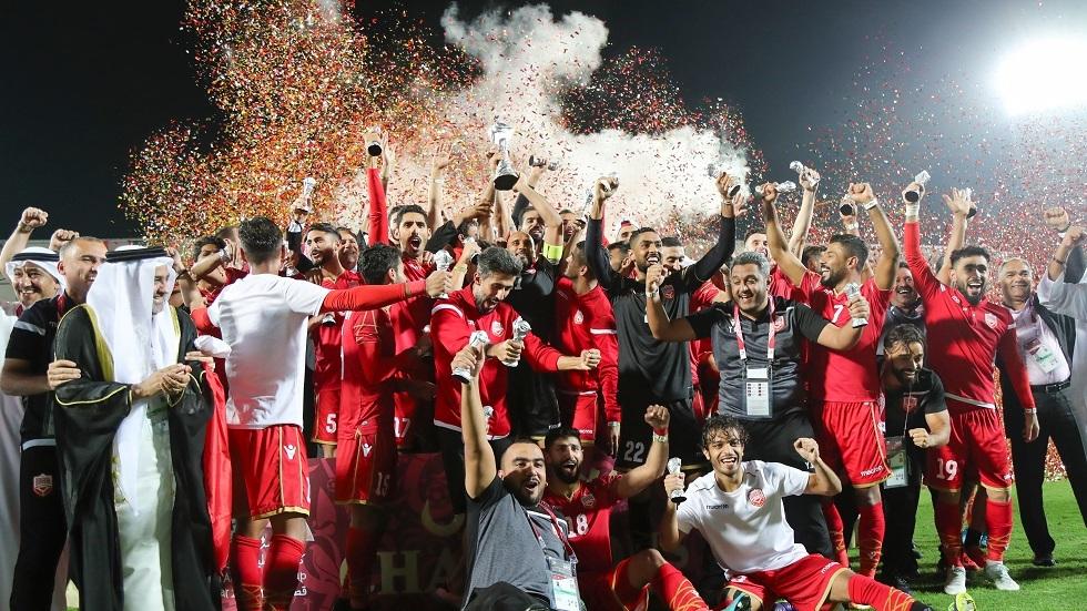 البحرين تتوج بكأس الخليج لأول مرة في تاريخها بعد فوزها في النهائي على السعودية (فيديو)