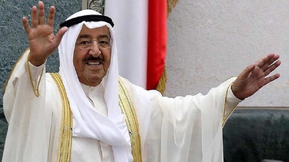أمير الكويت يهنئ أمير قطر بنجاح كأس الخليج العربي