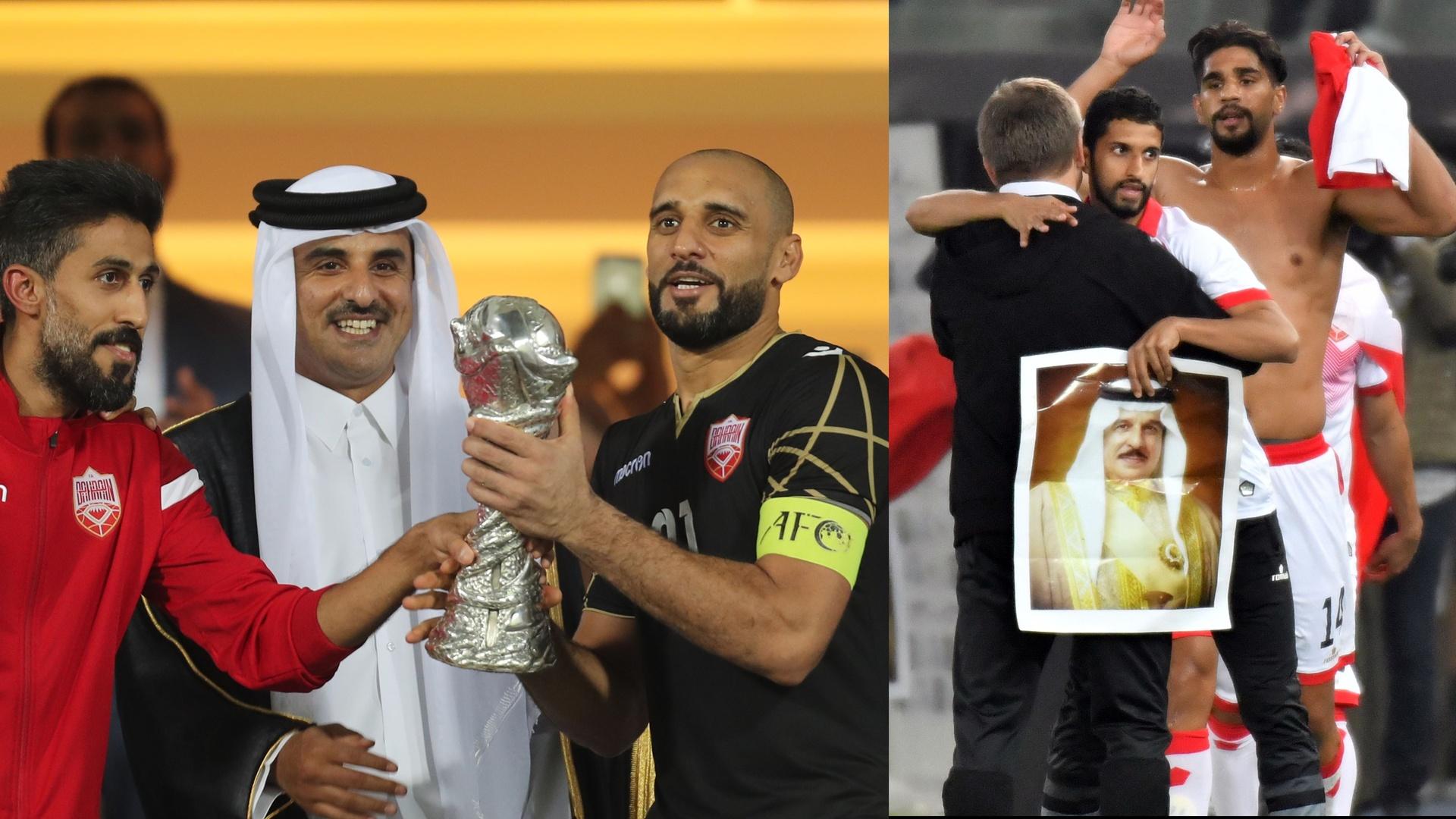 أمير قطر يهنئ المنتخب
