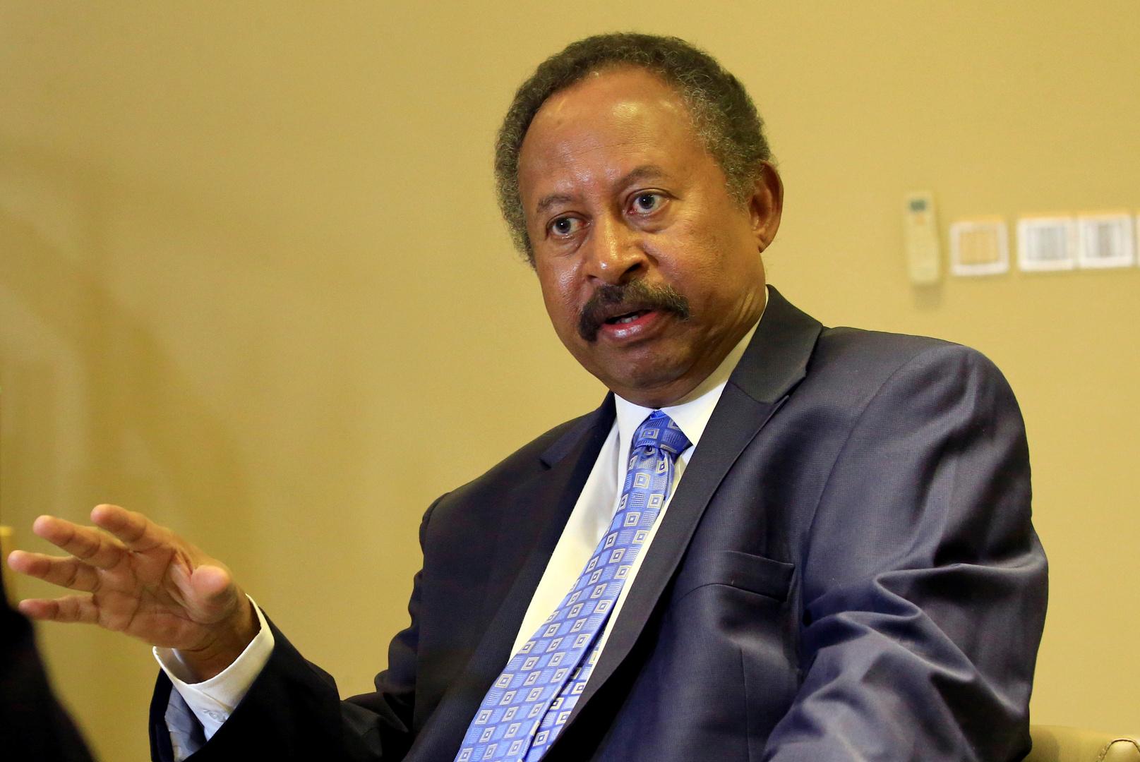 عبدالله حمدوك، رئيس وزراء السودان