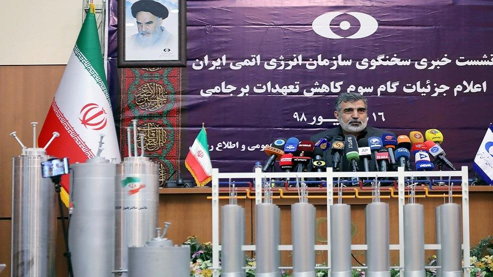 المتحدث باسم منظمة الطاقة الذرية الإيرانية بهروز كمالوندي (صورة أرشيفية)