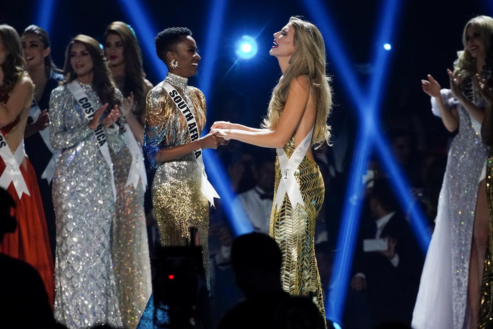 حسناء جنوب إفريقيا تفوز بمسابقة ملكة جمال الكون وجميلة روسيا لم تشارك