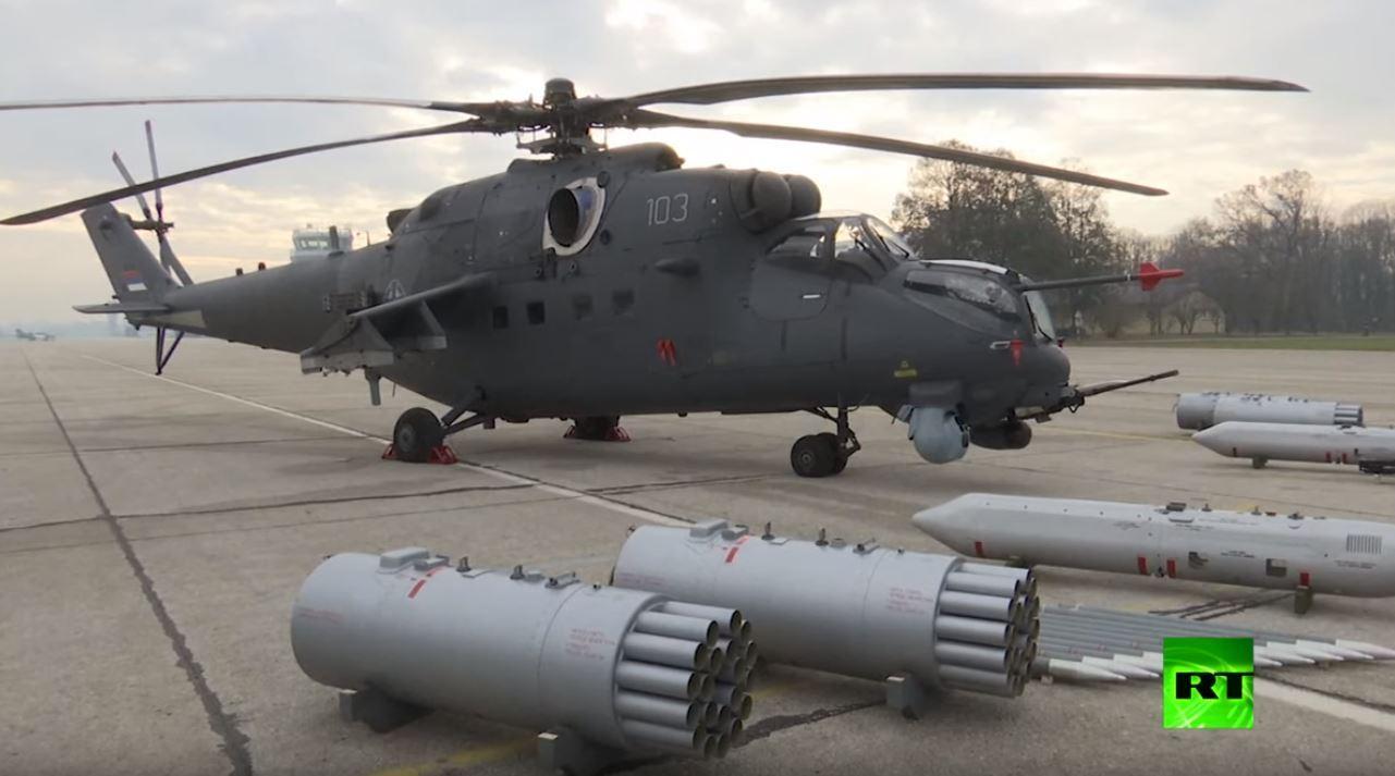 مروحيات مي-35 الروسية تصل أوروبا
