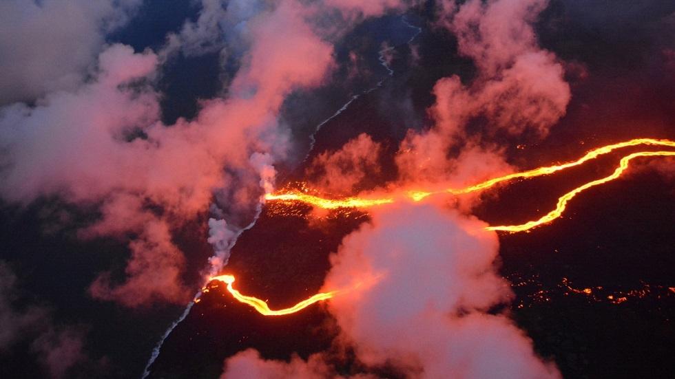 ثوران بركان كيلاويا في هاواي في مايو 2018