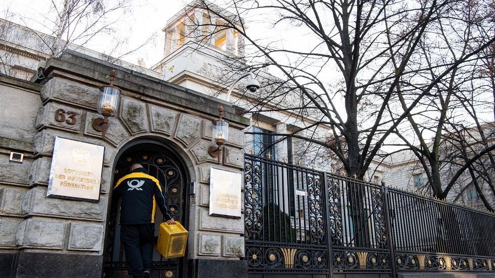 السفارة الروسية في برلين (أرشيفية)