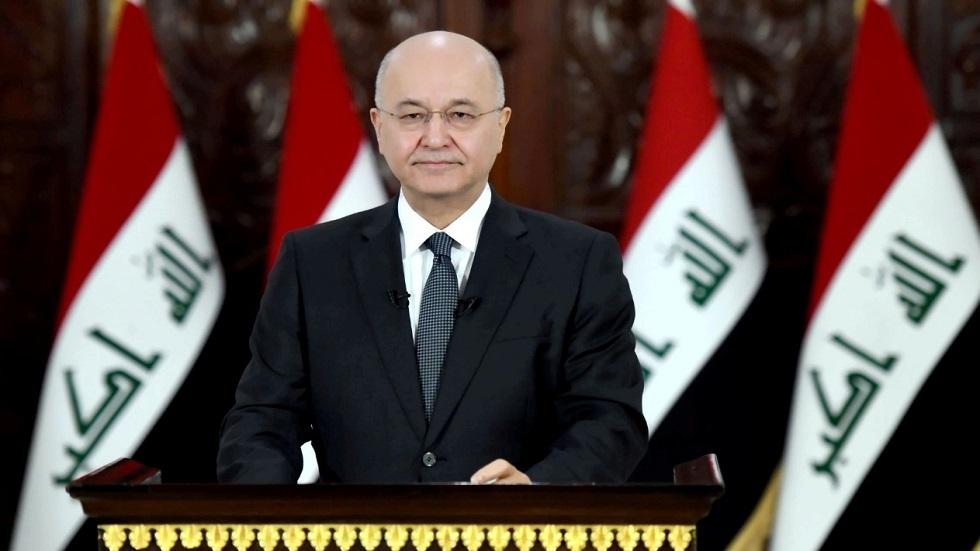 صالح للكتل النيابية: ملتزمون بالتوقيتات الدستورية لاختيار رئيس حكومة العراق