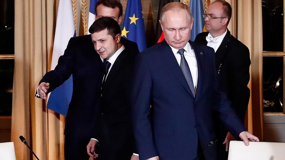 بوتين يرحب بنتائج لقائه الأول مع زيلينسكي