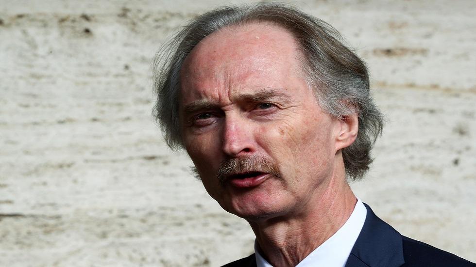بيدرسن يعلق على مقترح نقل أعمال الدستورية السورية إلى دمشق