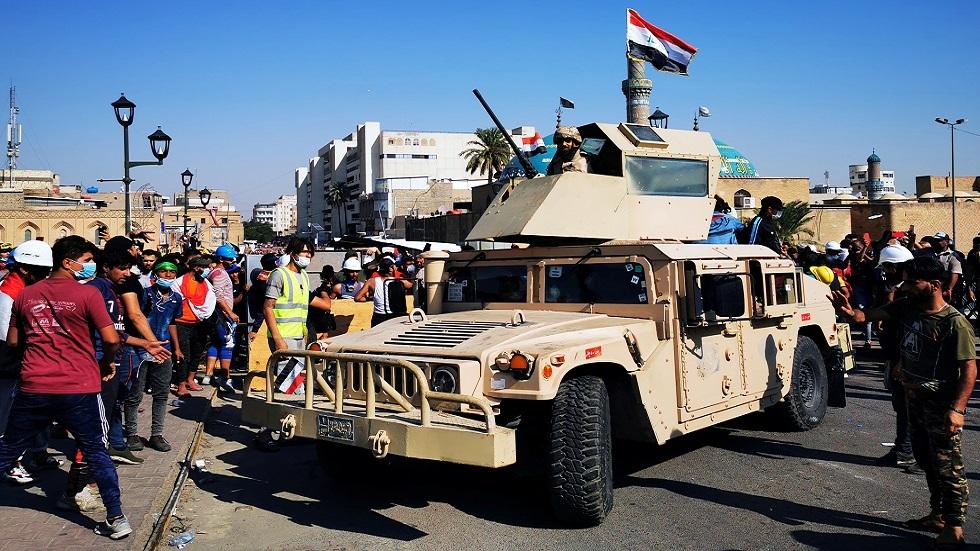 رئيس أركان الجيش العراقي للمتظاهرين: سنحميكم حتى تحقيق مطالبكم
