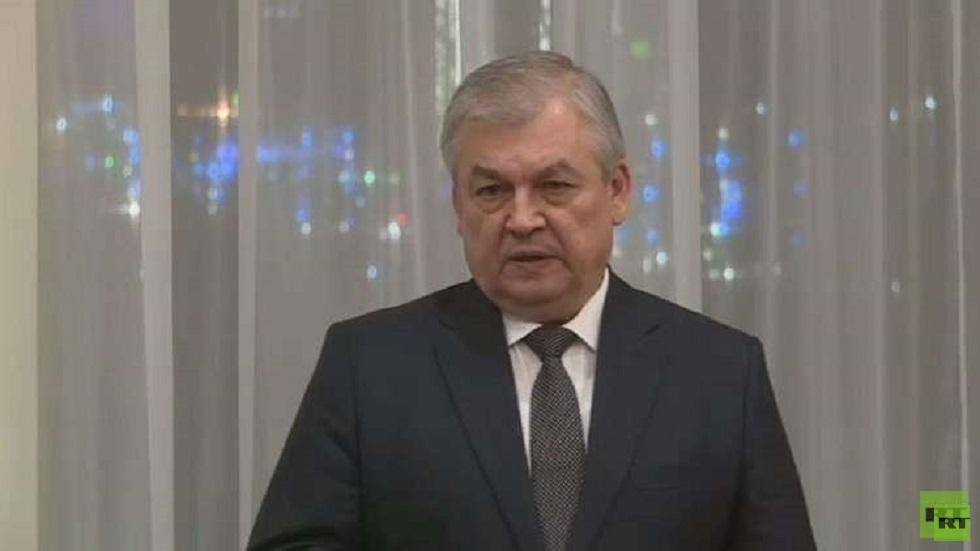 المبعوث الرئاسي الروسي الى سوريا أالكسندر لافرينتيف