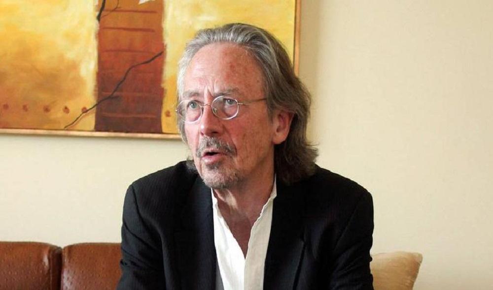 الكاتب النمساوي بيتر هاندكه