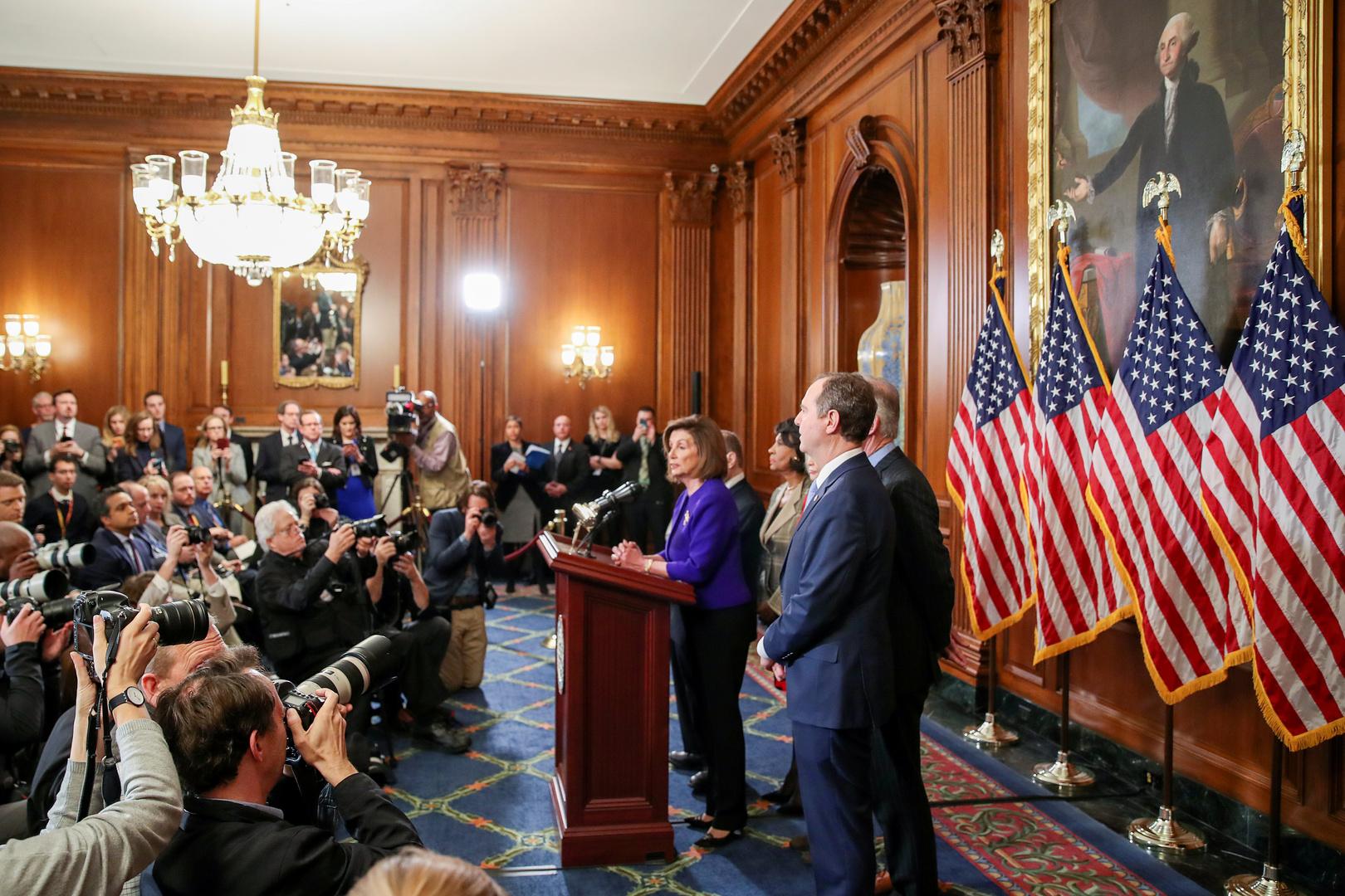 اللجنة القضائية البرلمانية في النواب الأمريكي تتهم ترامب باستغلال السلطة وإعاقة عمل الكونغرس
