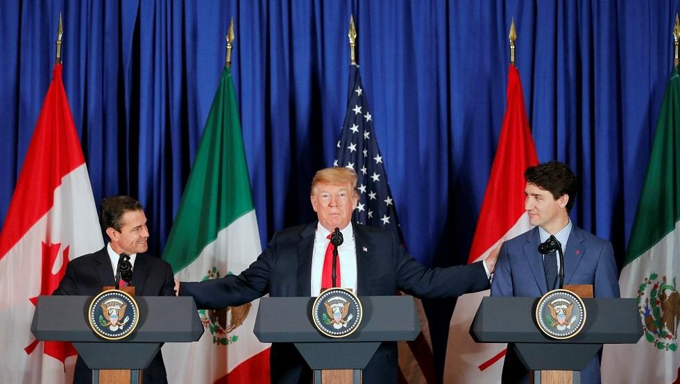 اتفاق تجاري جديد بين الولايات المتحدة وكندا والمكسيك