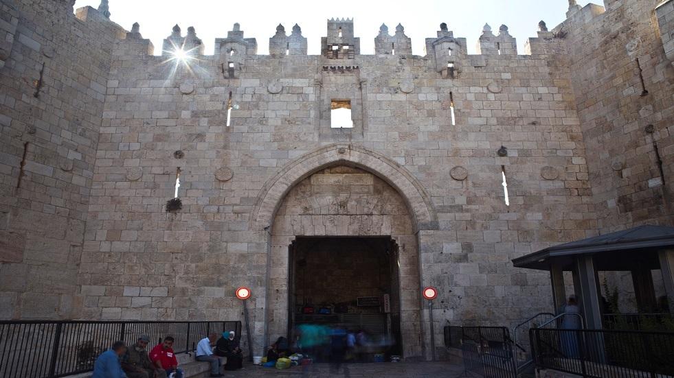 بوابة دمشق في القدس القديمة