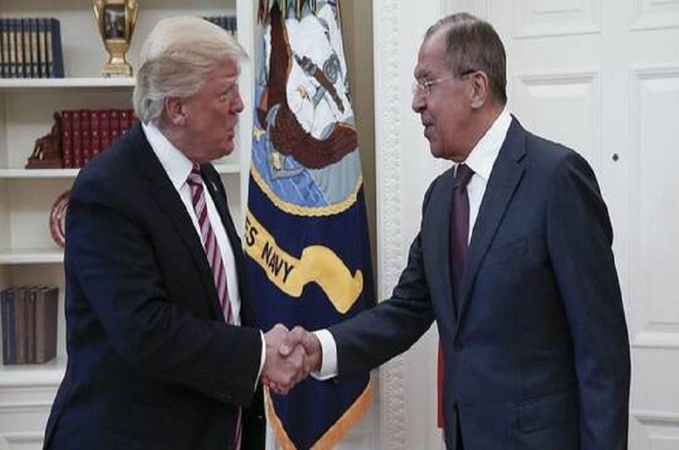 لافروف: الاجتماع مع ترامب تناول القضايا الدولية وعلى رأسها الوضع في الخليج