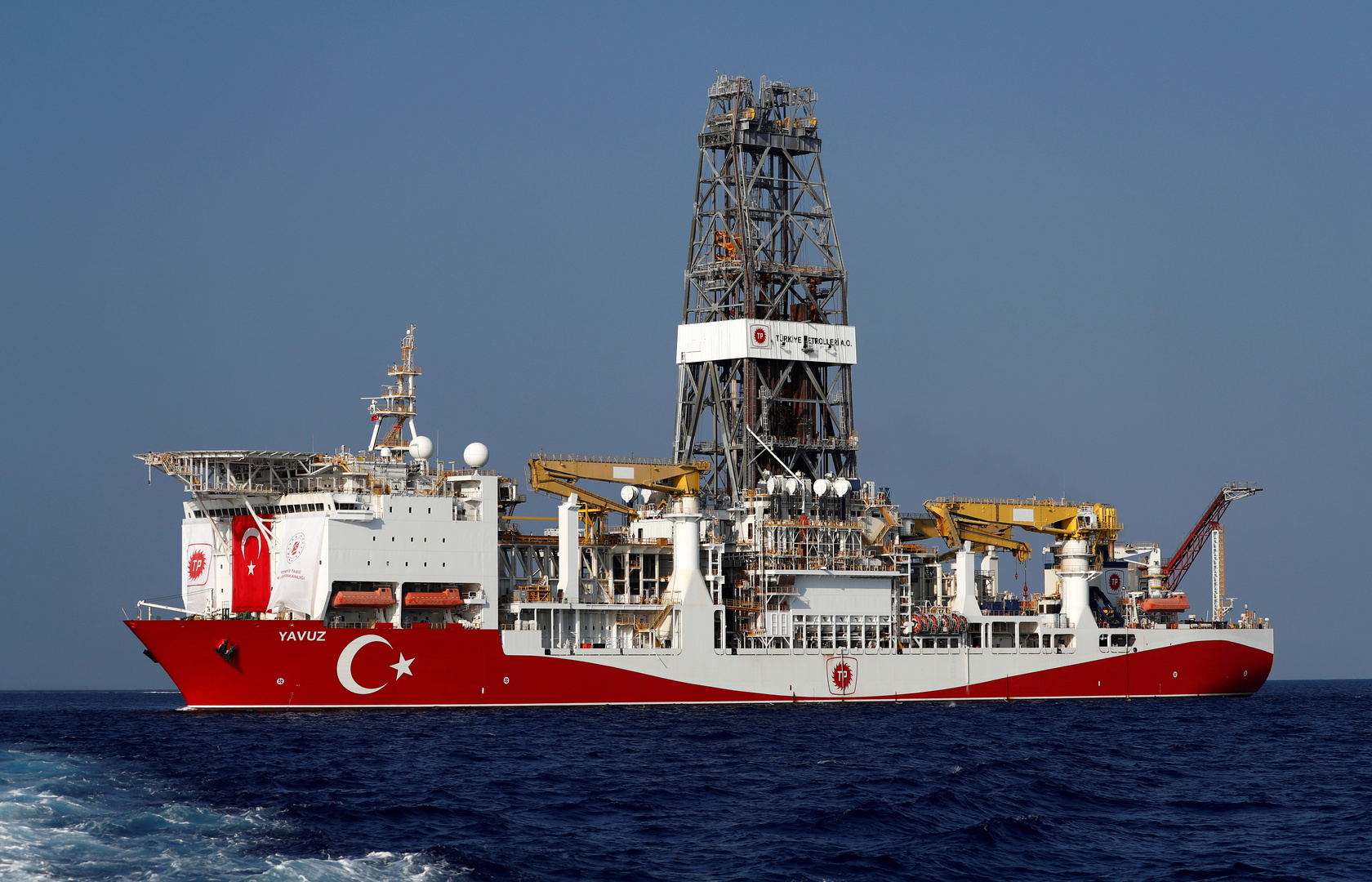 سفينة الحفر التركية في المتوسط