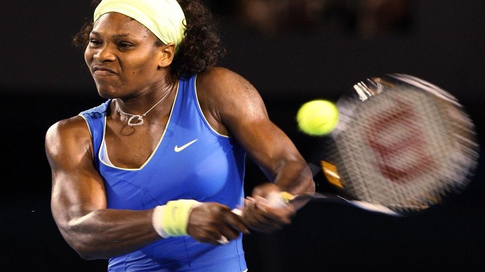 لاعبة التنس الأمريكية/ سيرينا ويليامز