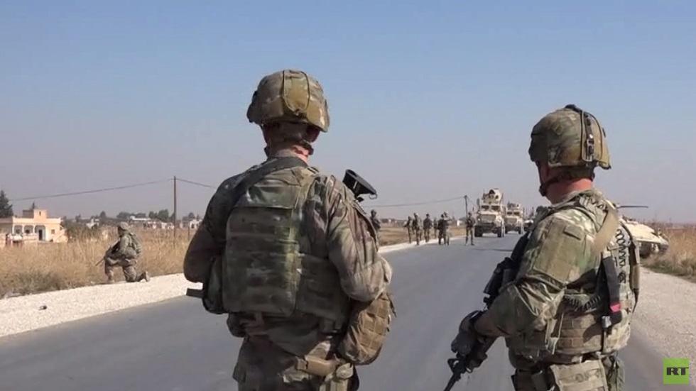 مواقع انتشار القوات الأمريكية بالشمال السوري