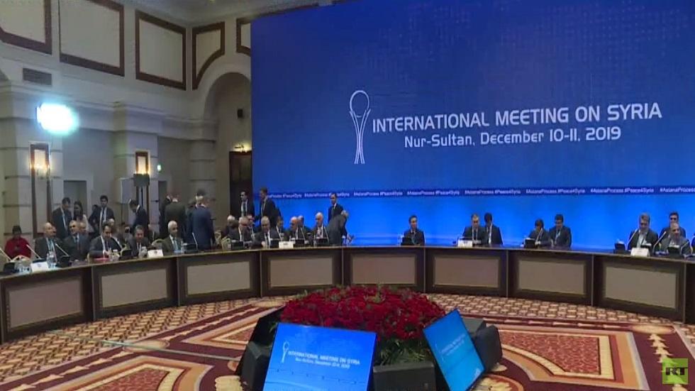 أستانا: رفض لأي حكم ذاتي في سوريا