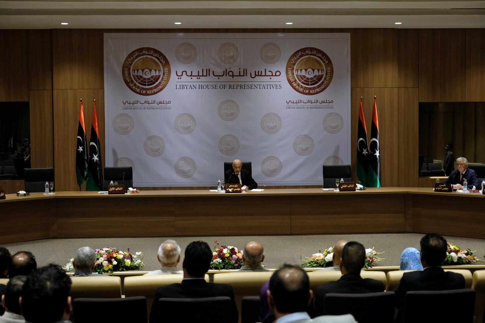 مجلس النواب الليبي ردا على تصريحات أردوغان: الأراضي الليبية خط أحمر