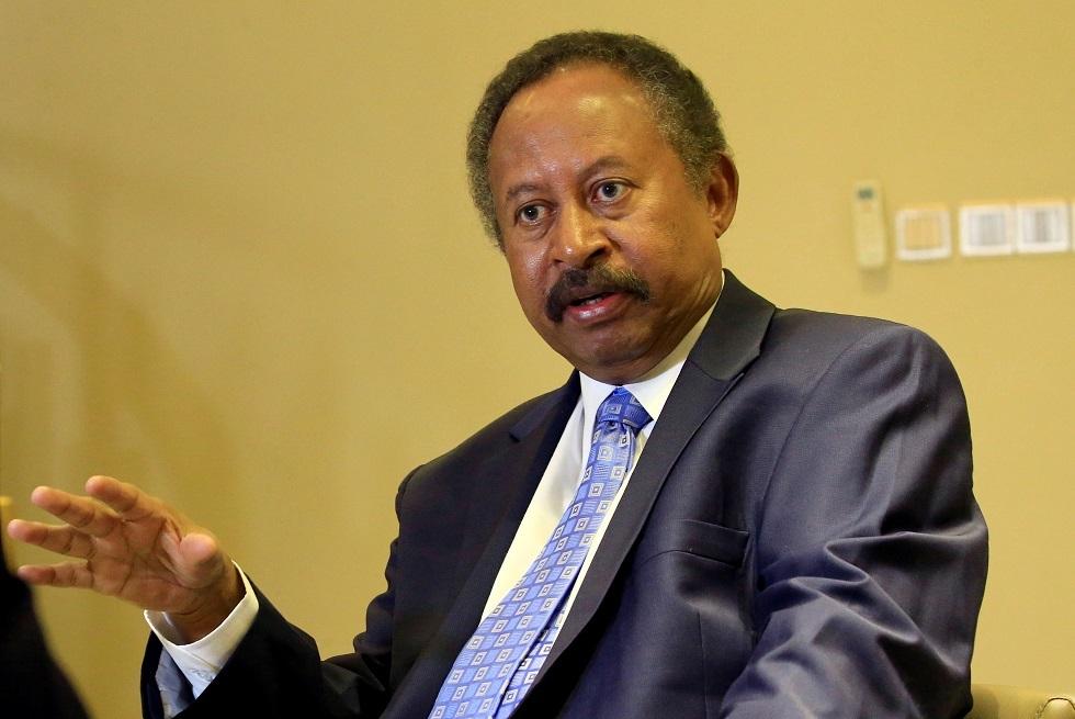 رئيس مجلس الوزراء السوداني، عبد الله حمدوك.