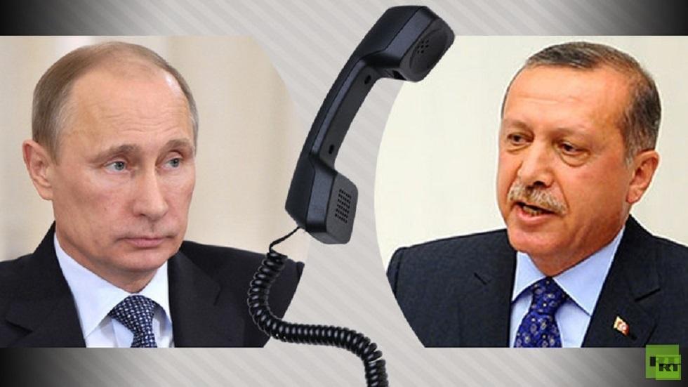الكرملين: بوتين وأردوغان بحثا هاتفيا الأوضاع في سوريا وليبيا