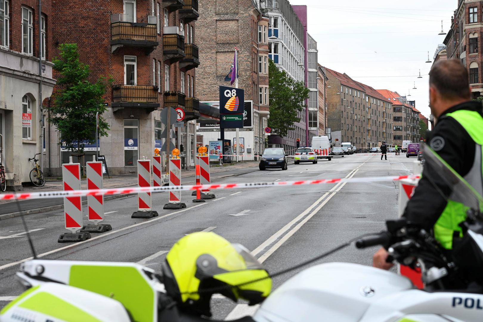 شرطي دنماركي في العاصمة كوبنهاغن - أرشيف