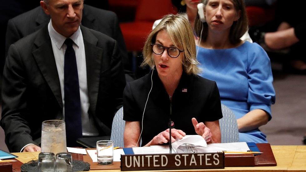 المندوبة الأمريكية الدائمة لدى الأمم المتحدة، كيلي كرافت