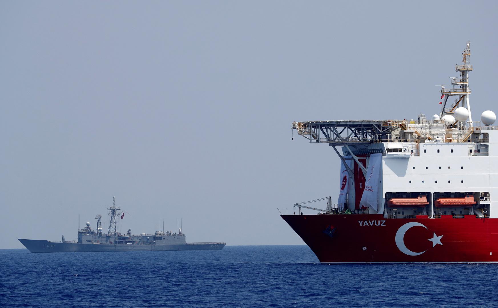 تركيا تؤكد عزمها إيقاف عمليات الدول الأخرى للتنقيب في شرق المتوسط