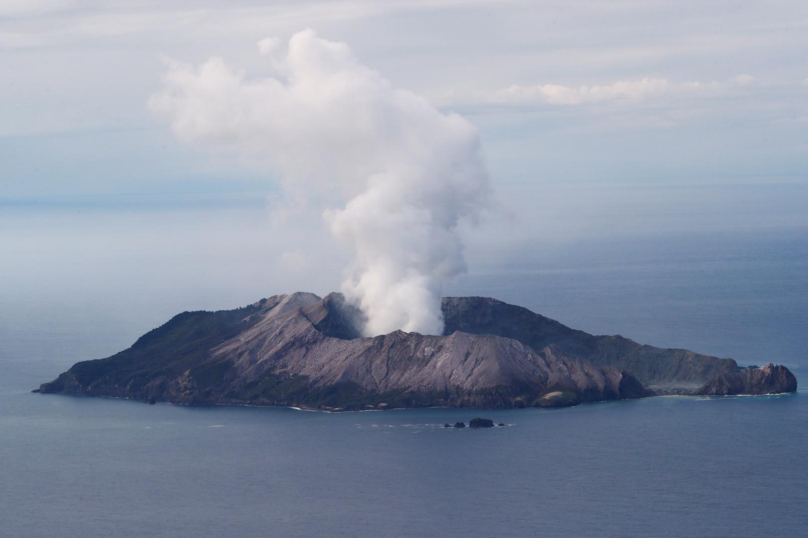 بركان جزيرة وايت أيلاند