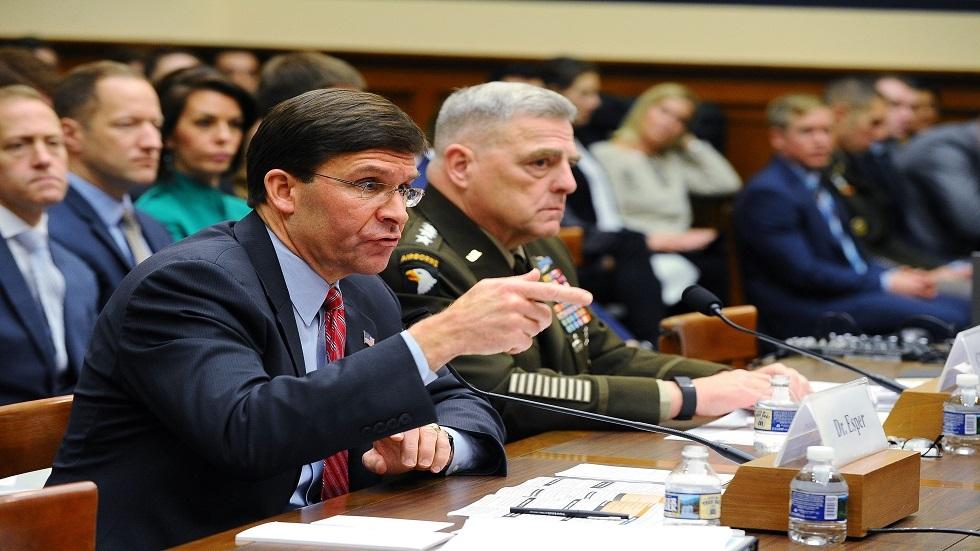 وزير الدفاع الأمريكي، مارك إسبر