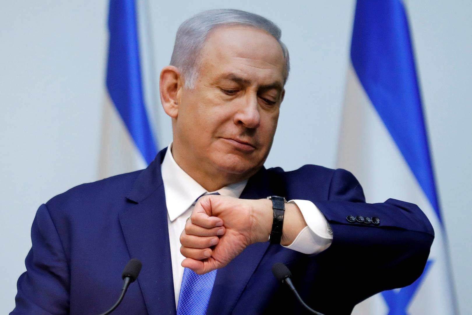 نتنياهو يتخلى عن جميع مناصبه الوزارية باستثناء رئاسة الوزراء