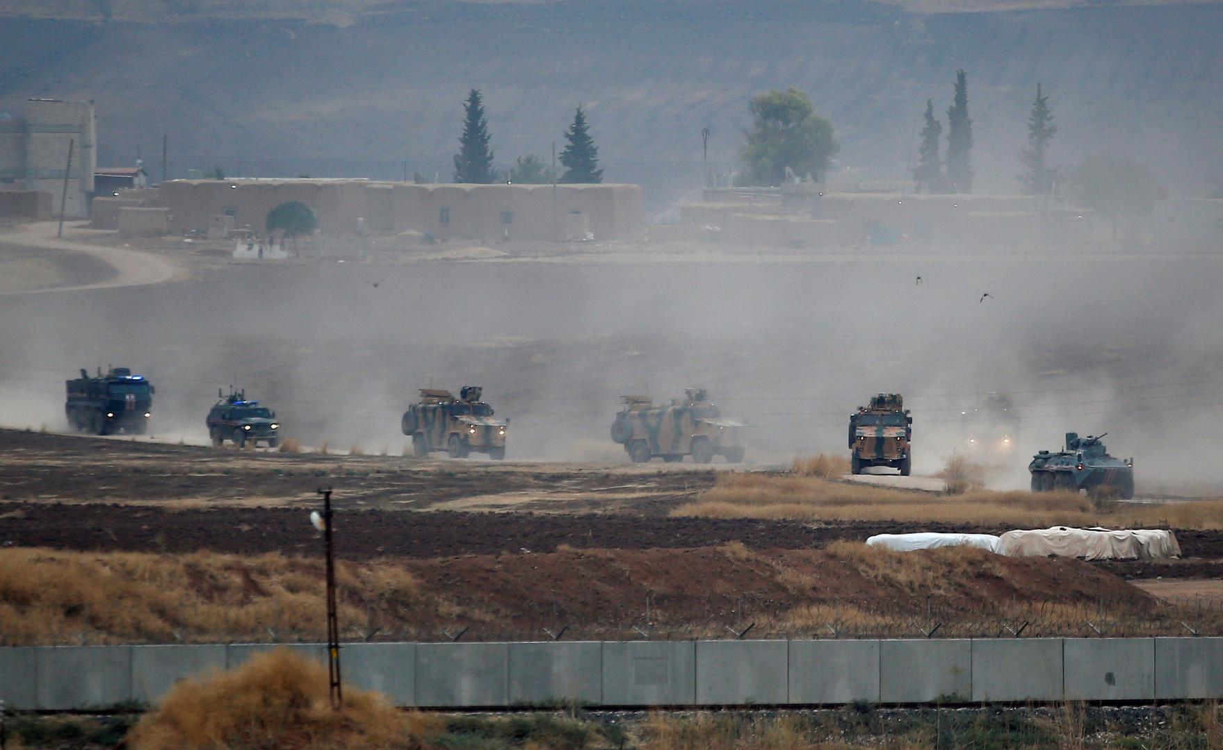 تسيير دورية روسية - تركية جديدة على الحدود السورية التركية