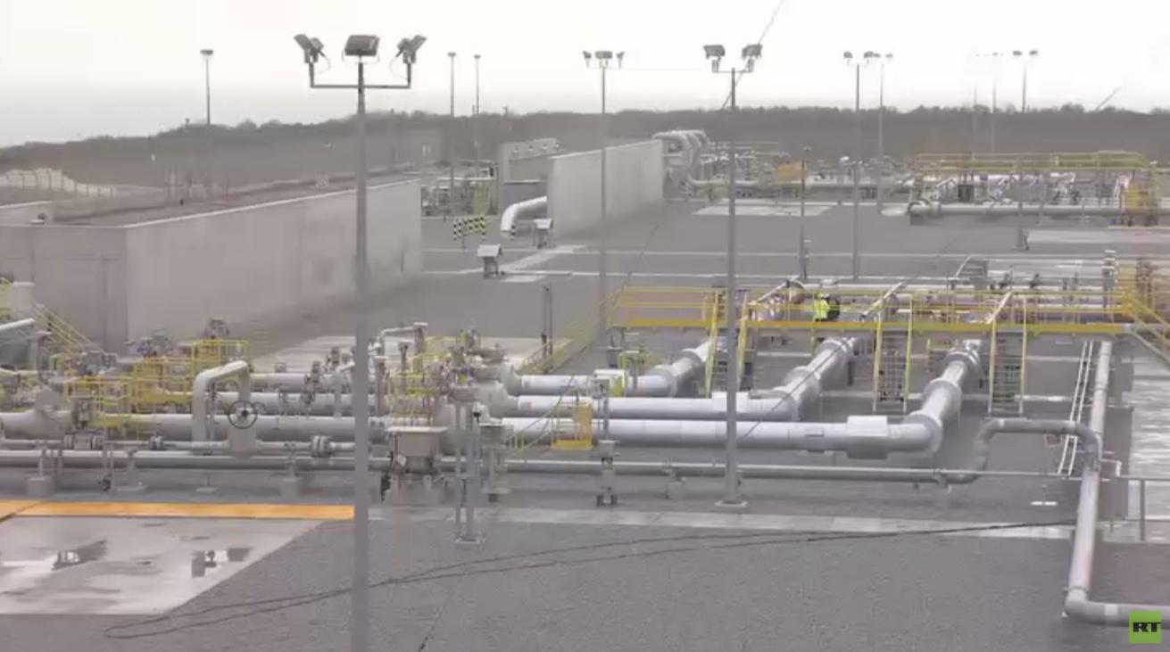 انتهاء مرحلة ضخ الغاز عبر