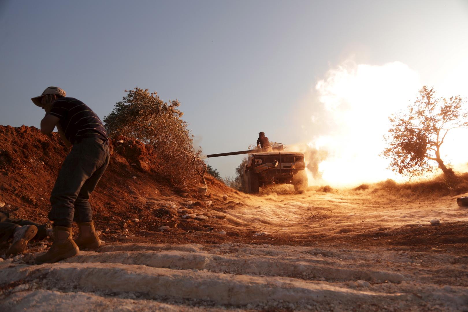 وحدات من اتشكيلات المسلحة في إدلب