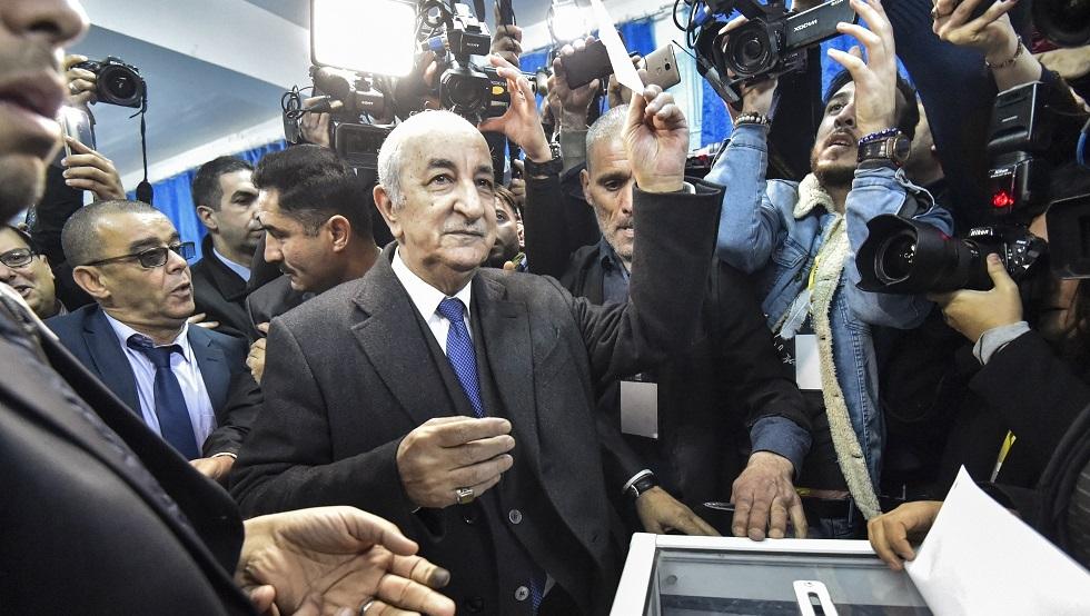 انتخابات الجزائر.. مؤشرات أولية على تقدم عبد المجيد تبون