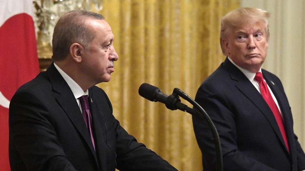 الرئيسان الأمريكي/ دونالد ترامب، والتركي/ رجب طيب أردوغان