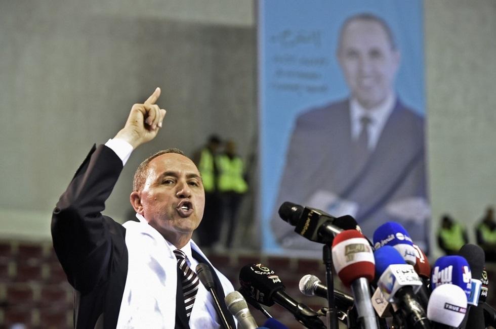ميهوبي المترشح لانتخابات الجزائر يهنئ الرئيس الجديد عبد المجيد تبون