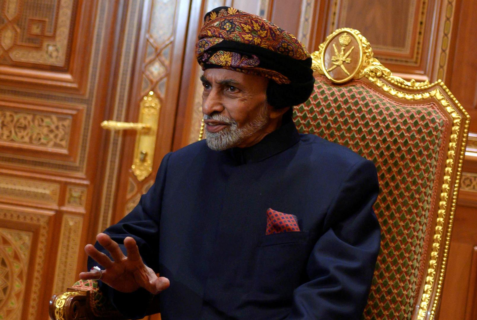 السلطان قابوس يعود إلى عمان بعد فحوصات طبية في بلجيكا