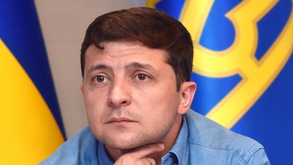 الرئيس الأوكراني/ فلاديمير زيلينسكي