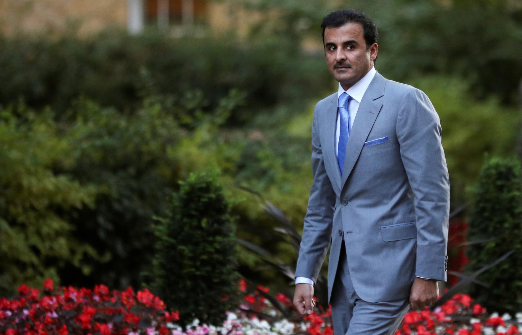 أمير قطر يهنئ تبون بفوزه في الانتخابات الرئاسية الجزائرية