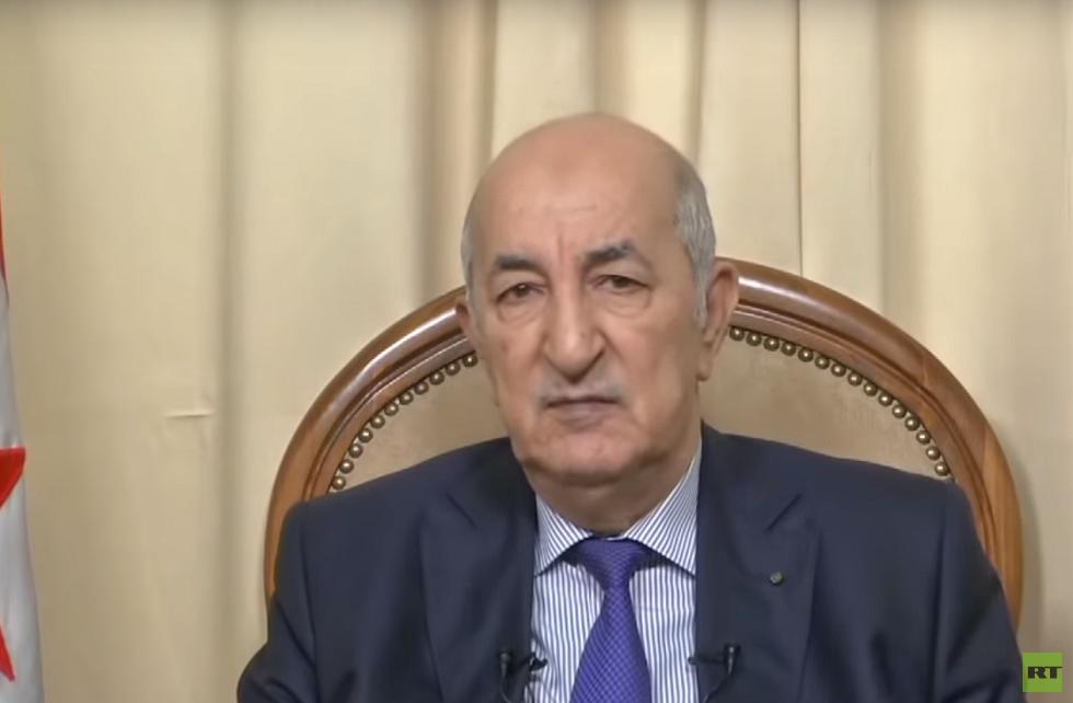 الرئيس الجزائري الجديد: لن أجيب ماكرون على ما قاله هو حر في تسويق بضاعته في بلاده -
