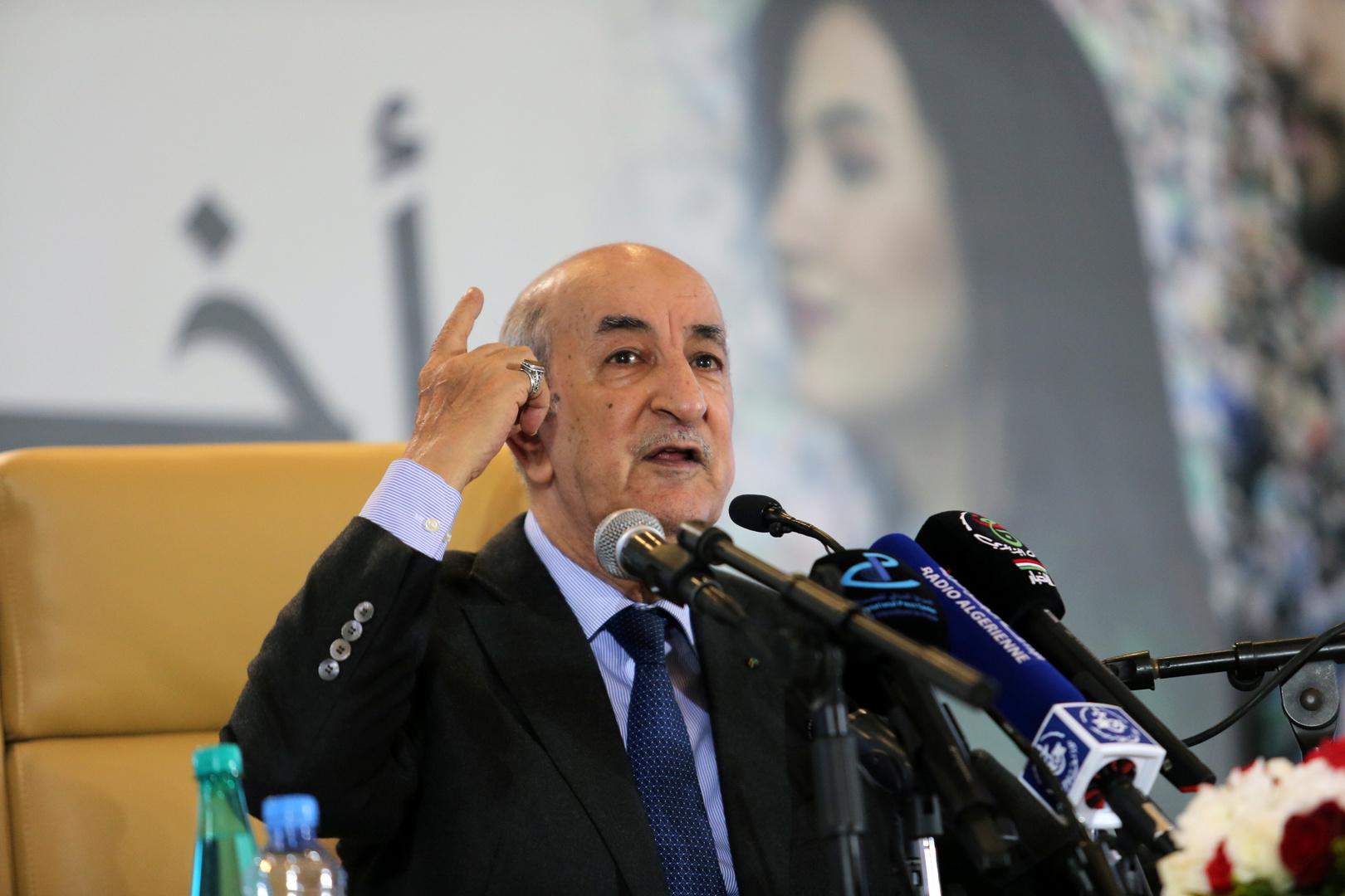 الرئيس الجزائري الجديد يتعهد بإجراء تغييرات دستورية عميقة وطرحها على استفتاء شعبي